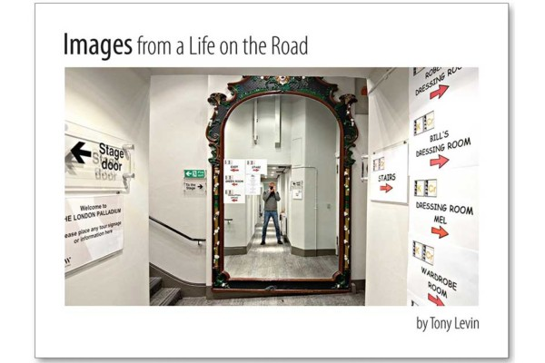 "Tony Levin Unveils ""Images From a Life on the Road"" Book"