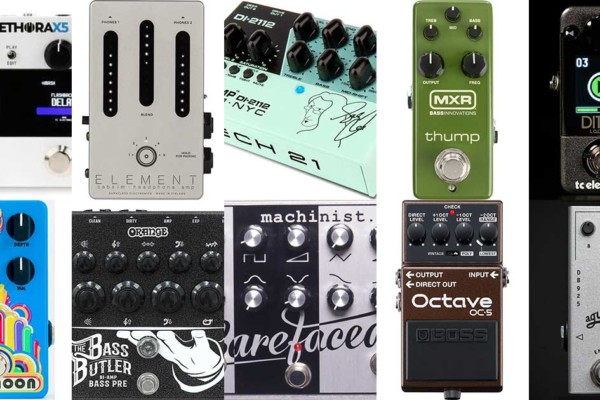 Best of 2020: The Top 10 Reader Favorite Bass Pedals & Effects