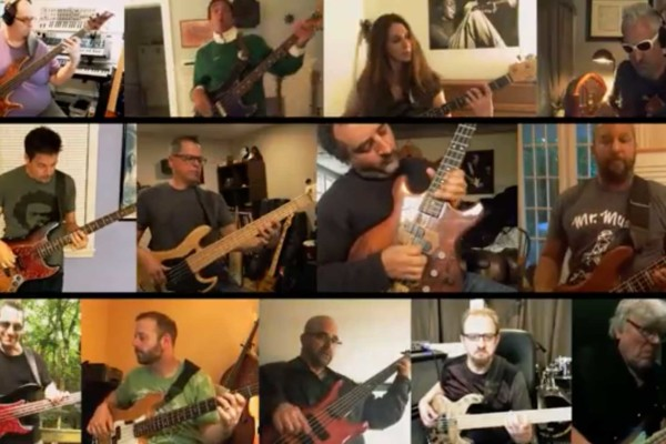 Chris Georgenes and 13 Bassists: Give Up the Funk (Tear the Roof off the Sucker)