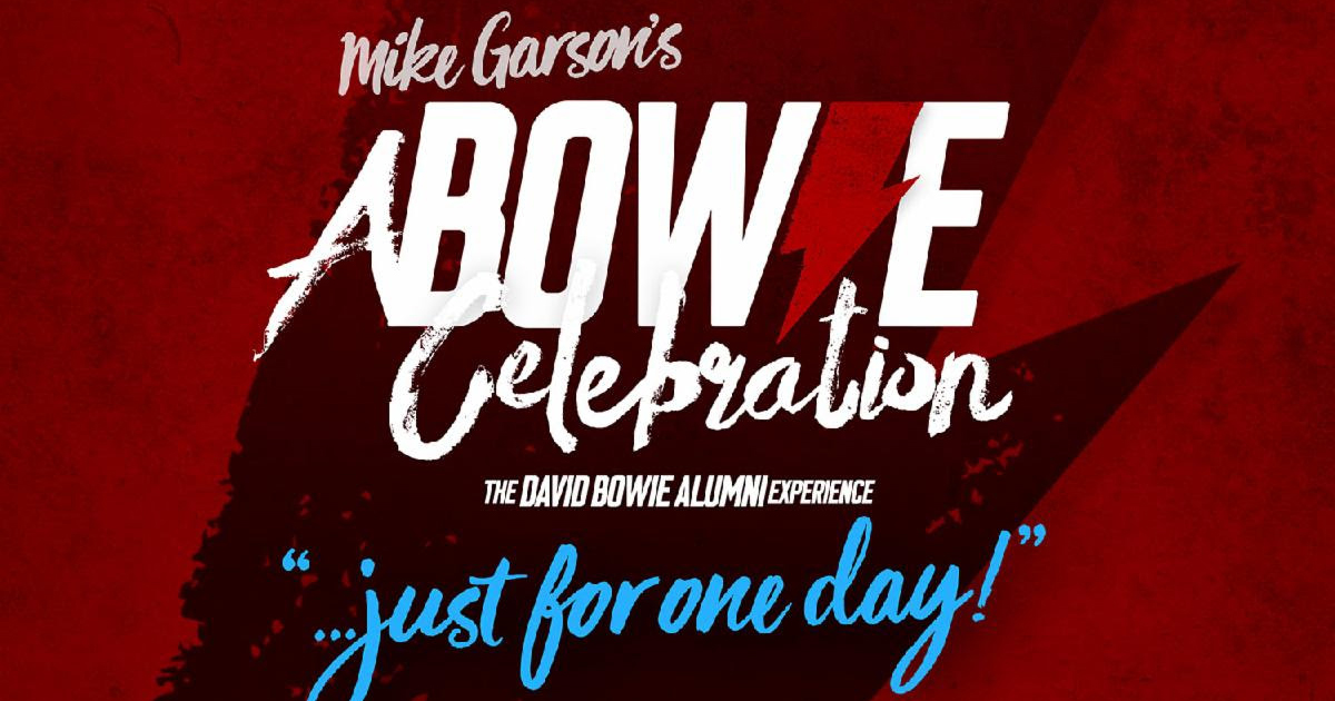 A Bowie Celebration... Just for One Day!