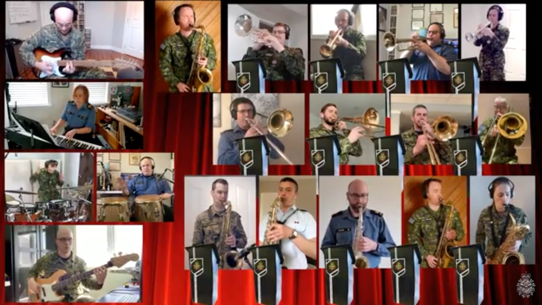 Canadian Armed Forces Long Distance Big Band: The Chicken