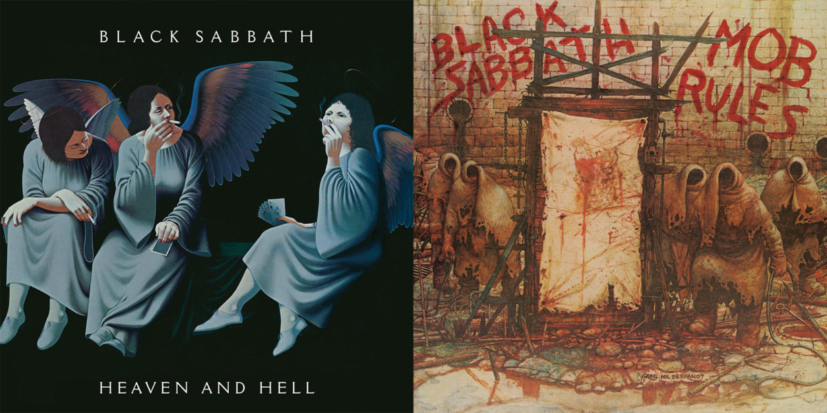 Black Sabbath: Heaven and Hell and Mob Rules Deluxe Sets