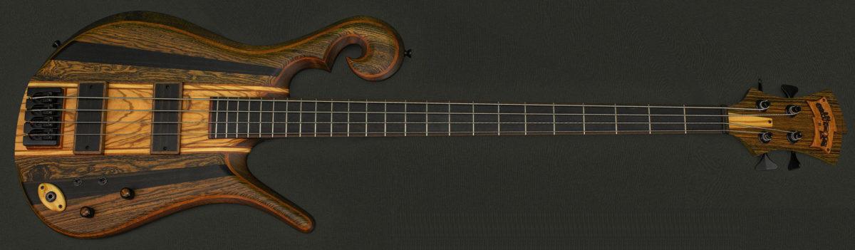 Carl Thompson Full Frills Serial #12520 Bass