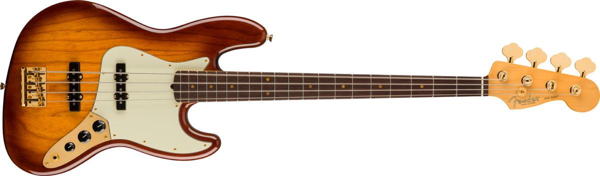 Fender 75 Anniversary Jazz Bass Platinum