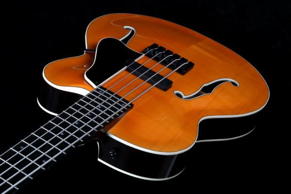 Bass of the Week: Marusya Guitars Archtop Bass