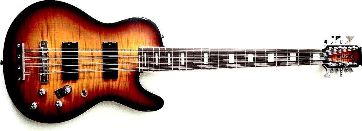 Musicvox Space Cadet Custom 12-String Bass