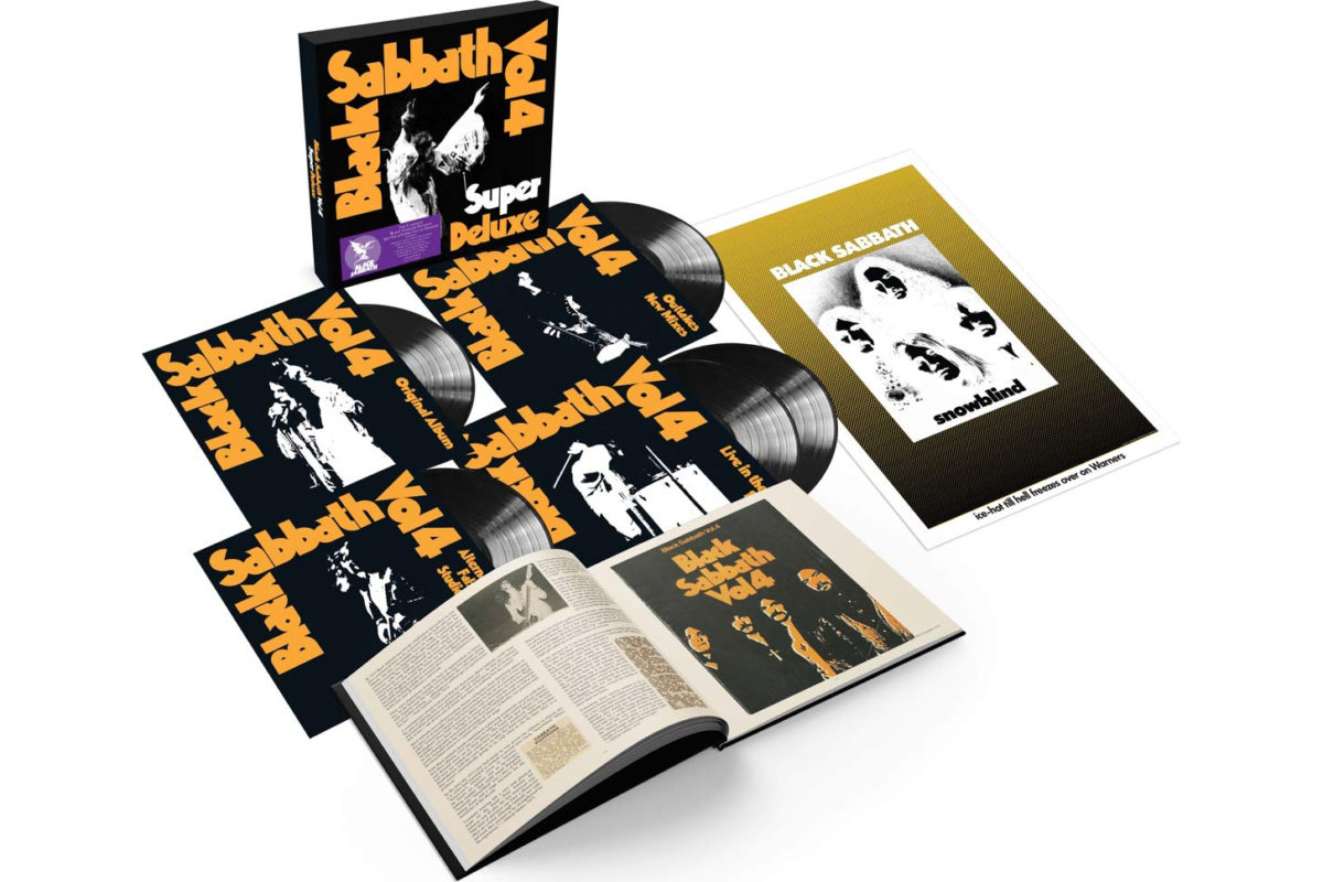 "Black Sabbath: ""Vol. 4"" Super Deluxe Edition"
