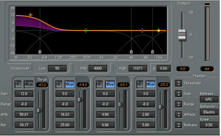 Zoom C4 Deep Bass Settings