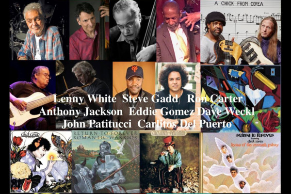 Steve Bailey and Victor Wooten Host Chick Corea Tribute Webinar