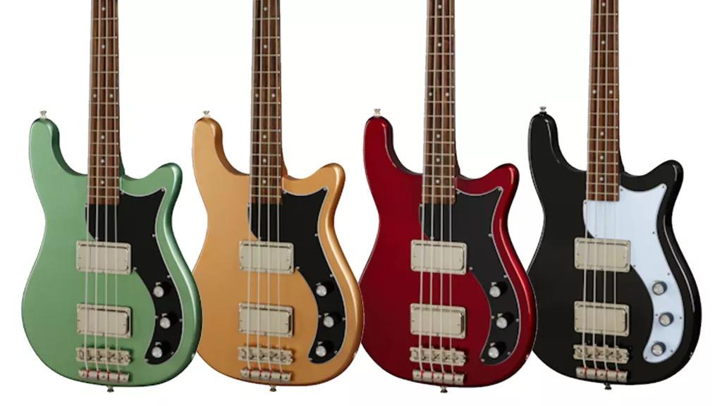 Epiphone Embassy Bass Lineup