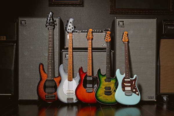 Ernie Ball Music Man Unveils New Finishes