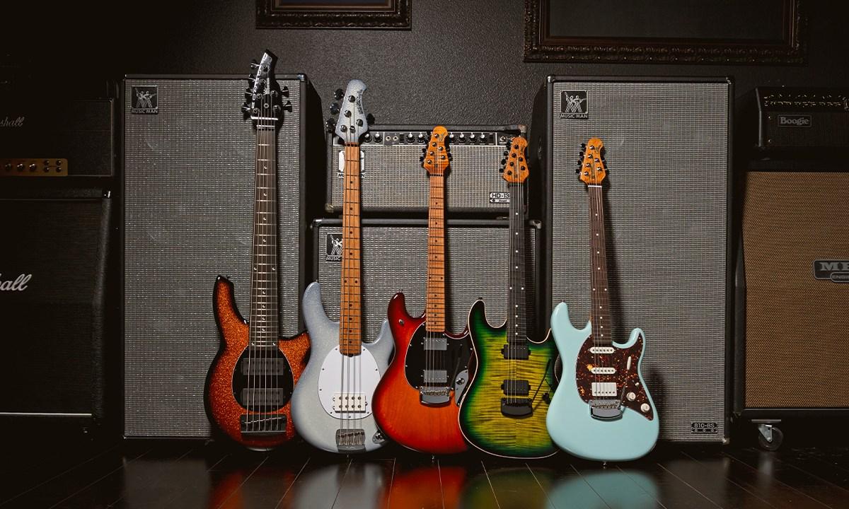 Ernie Ball Music Man 2021 New Bass Finishes