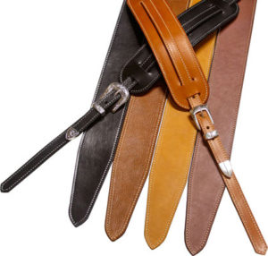 Gecko Leather Works Classic Series Bass Straps