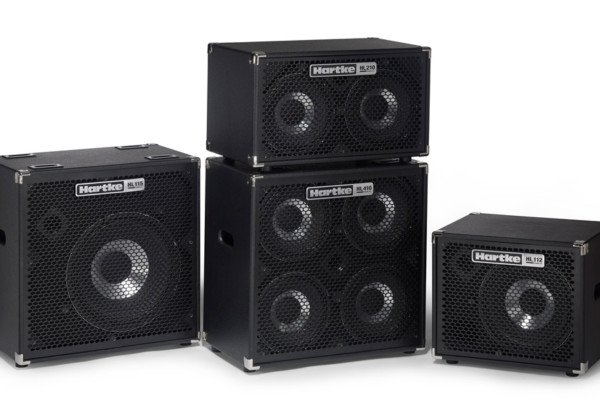 Hartke Unveils Lightweight HyDrive HL Bass Cabinets