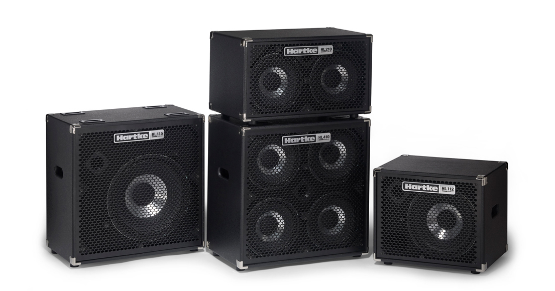Hartke HyDrive HL Series Bass Cabinets