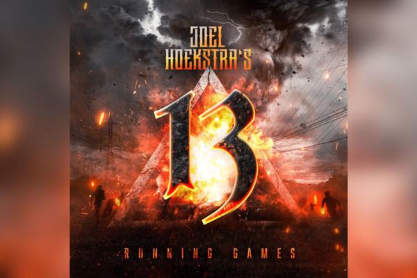 "Joel Hoekstra's 13, featuring Tony Franklin, Release ""Running Games"""
