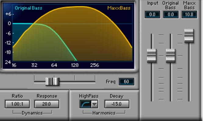 Zoom MaxxBass Deep Bass Settings