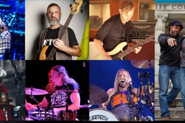 "Bailey, Wooten, and Patitucci to Host ""Giants of Rock"" Webinar"