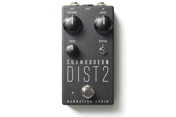 Damnation Audio Introduces the Curmudgeon 2 Bass Amp Distortion Pedal