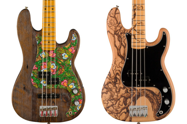 Fender Custom Shop Unveils 2021 Prestige Series Basses