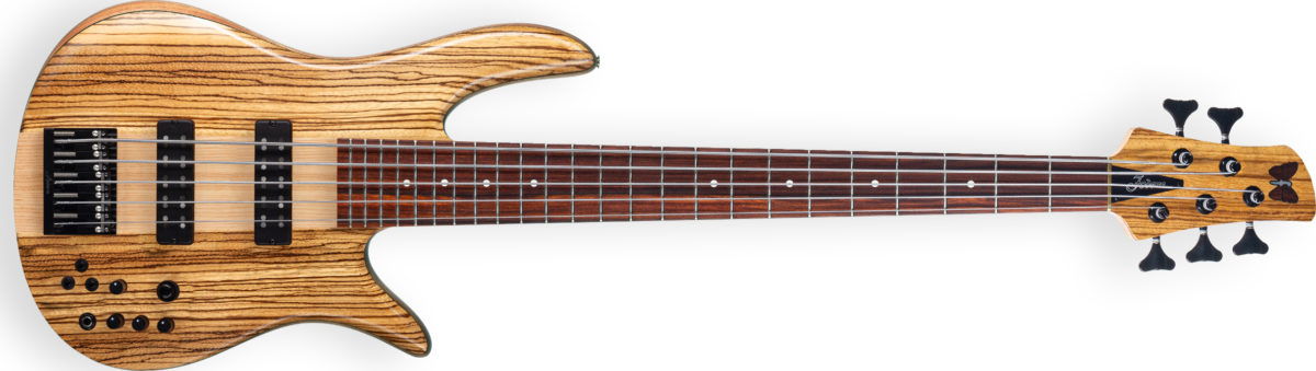 Fodera 2021 Anniversary Monarch 5 Bass