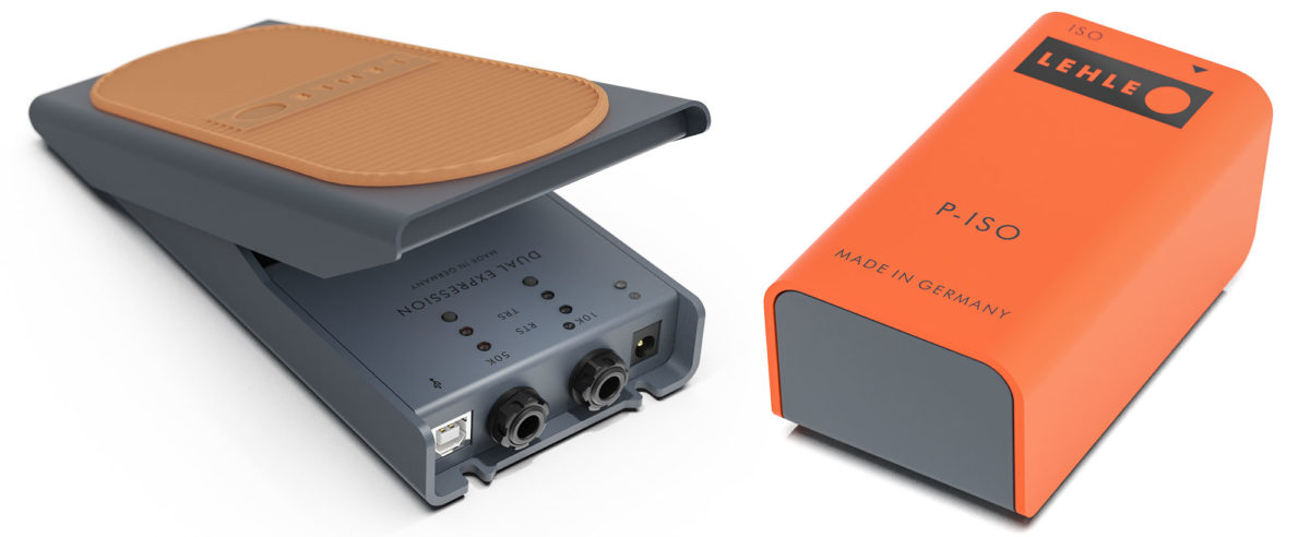 Lehle Dual Expression and P-ISO Pedals