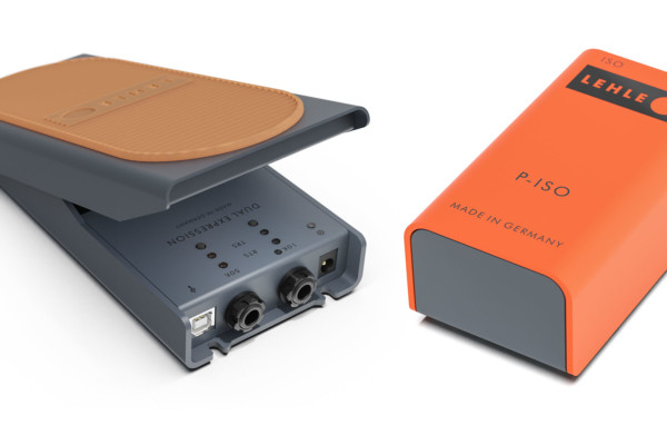 Lehle Introduces Dual Expression and P-ISO Pedals