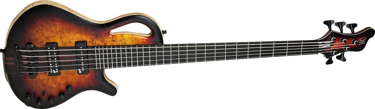 Mayones Guitars Caledonius Classic 5 Custom Bass
