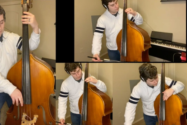 Austin Bolden: Therefore I Am (Double Bass Cover)
