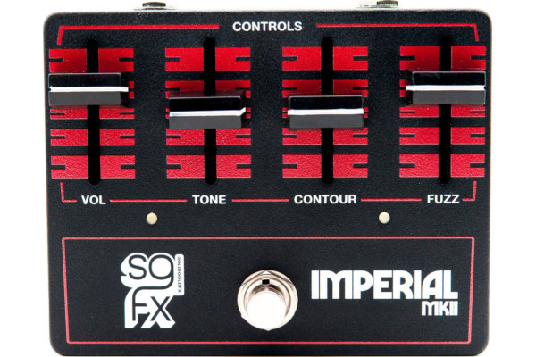SolidGoldFX Introduces the Imperial MkII Fuzz Pedal