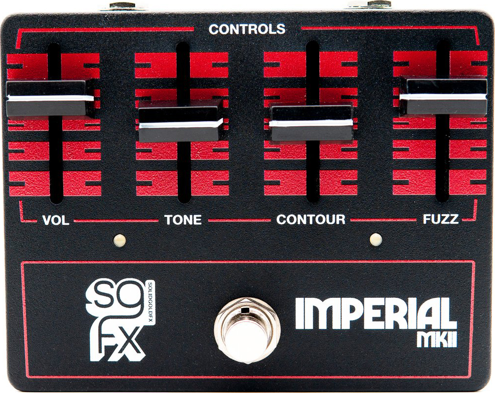 SolidGoldFX Imperial MkII Fuzz Pedal