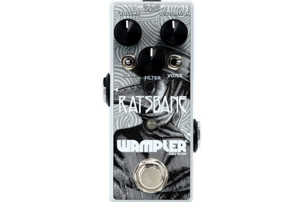 Wampler Pedals Introduces the Ratsbane Distortion Pedal