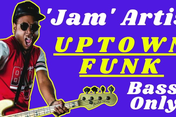 "Bruno Mars: Jamareo Artis's Isolated Bass on ""Uptown Funk"""