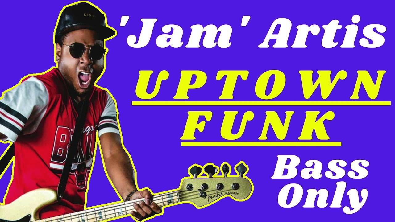 """Bruno Mars: Jamareo Artis's Isolated Bass on """"Uptown Funk"""""""