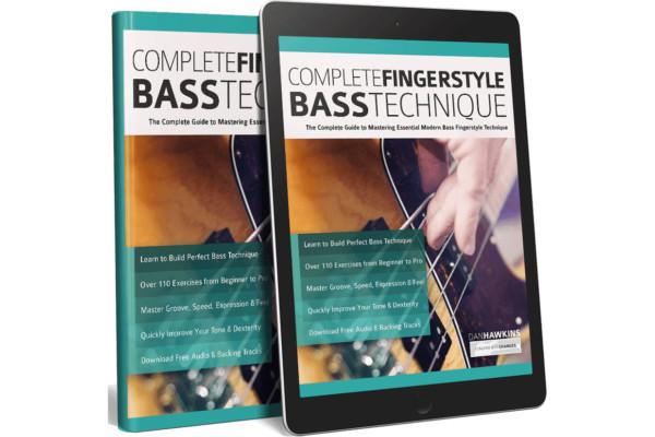"""Dan Hawkins Publishes """"Complete Fingerstyle Bass Technique"""""""