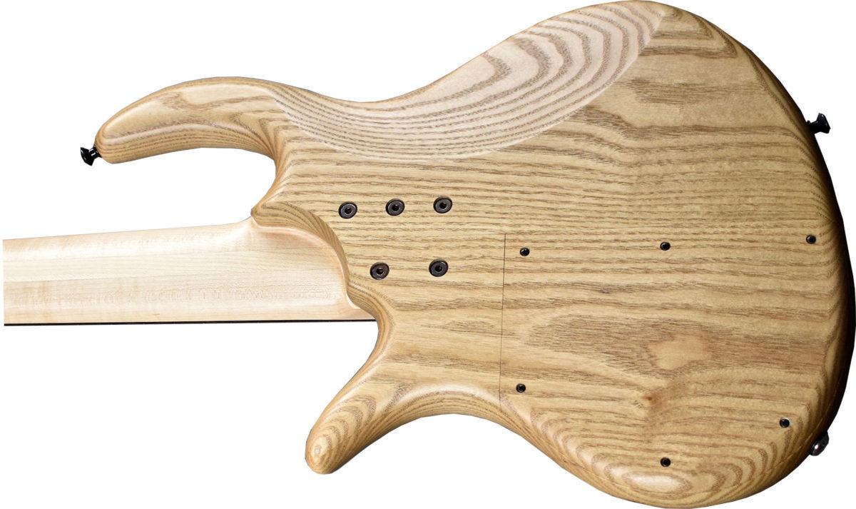 Elrick Bass Guitars Sassafras Bass Body