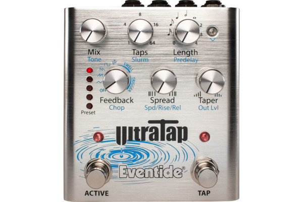 Eventide Introduces the UltraTap Pedal