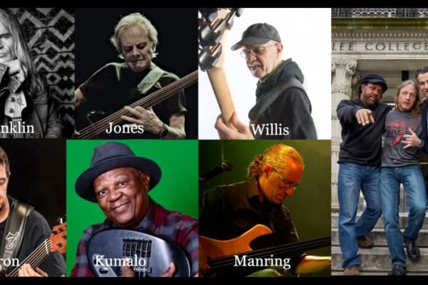 "Bailey, Wooten, and Pattituci to Host ""Fretless Bass Pioneers"" Webinar"