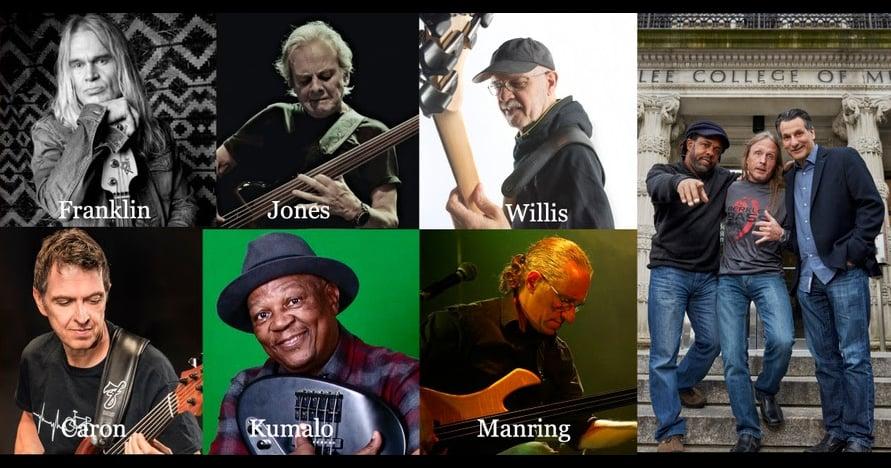 Berklee Bass Department Fretless Bass Pioneers Webinar