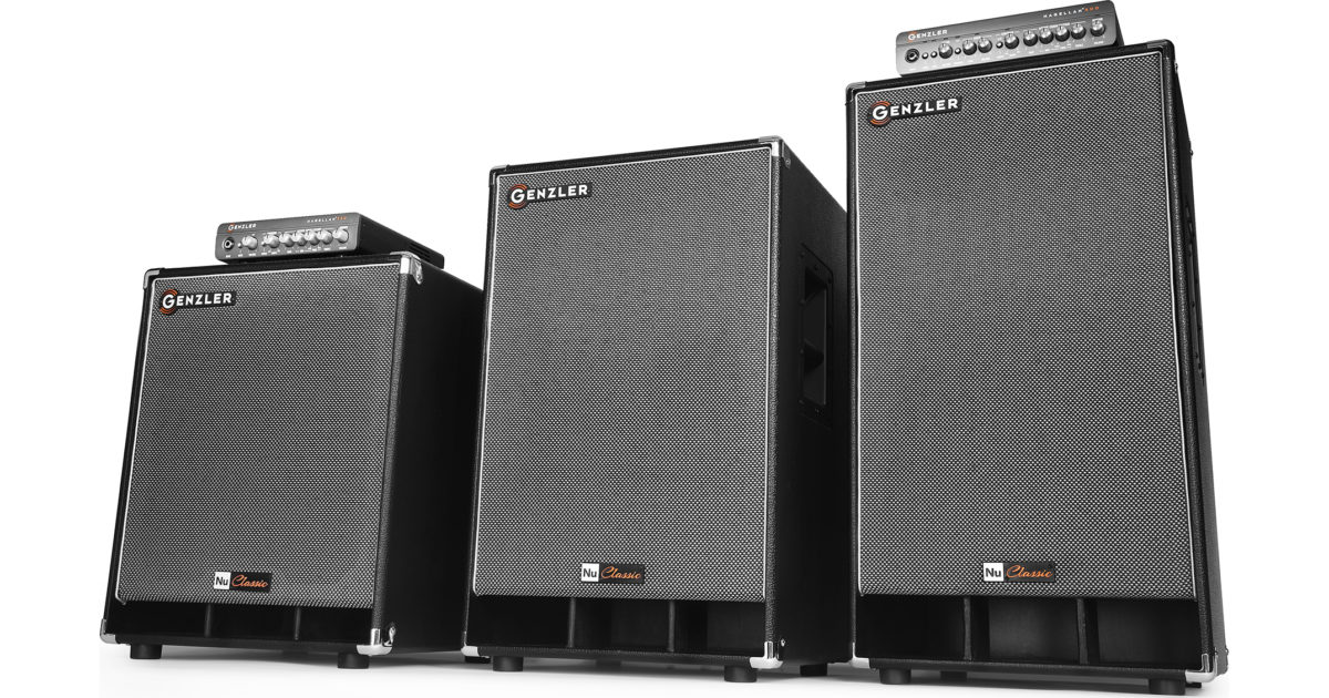 Genzler Amplification Nu Classic Bass Cabinet Series with Amps