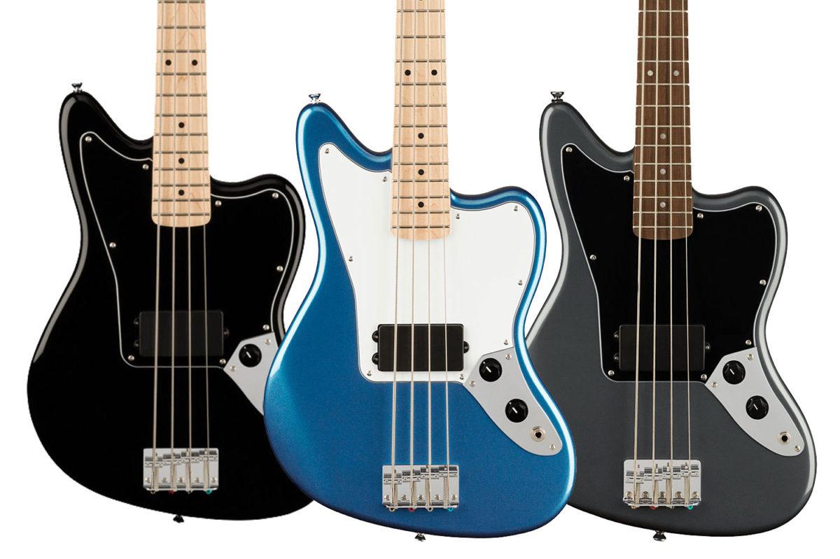 Squier Affinity Series Jaguar Bass H Models