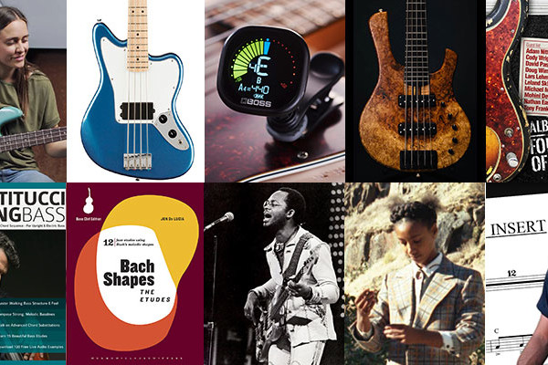 "Weekly Top 10: ""Opus Insert"" Bass Transcription, Remembering Morris ""B.B."" Dickerson, New Bass Gear, Books, and More"