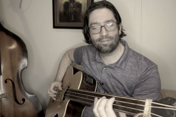 """Pete O'Neill: """"Untitled"""" Solo Bass Composition"""