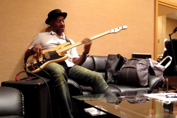 Marcus Miller: Billboard Live Tokyo Show Warmup
