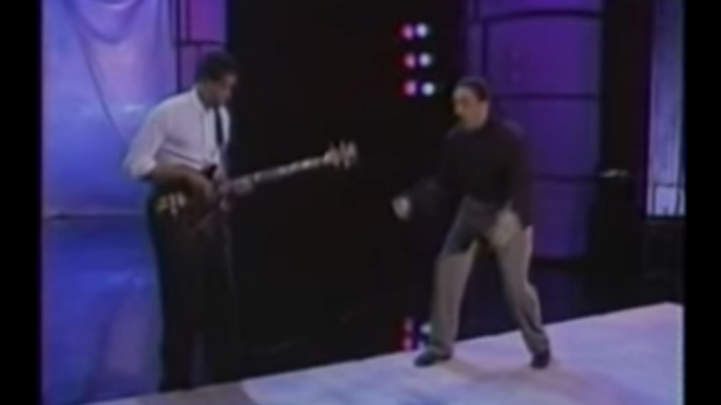 Stanley Clarke and Gregory Hines: Arsenio Hall Show Performance