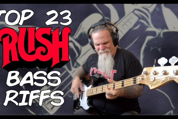 Tim Starace and Josh DuBois: Top 23 Rush Bass Riffs