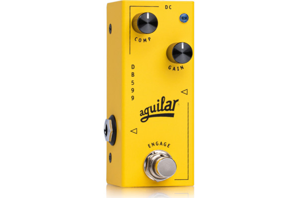 Aguilar Introduces the DB 599 Bass Compressor Pedal