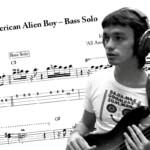 "Bass Transcription: Jaco Pastorius's Solo on ""All American Alien Boy"""