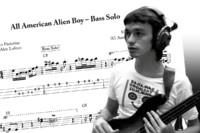 "Bass Transcription: Jaco Pastorius's Solo on ""All American Alien Boy"""