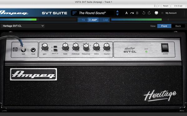 Ampeg Introduces SVT Suite Plugin